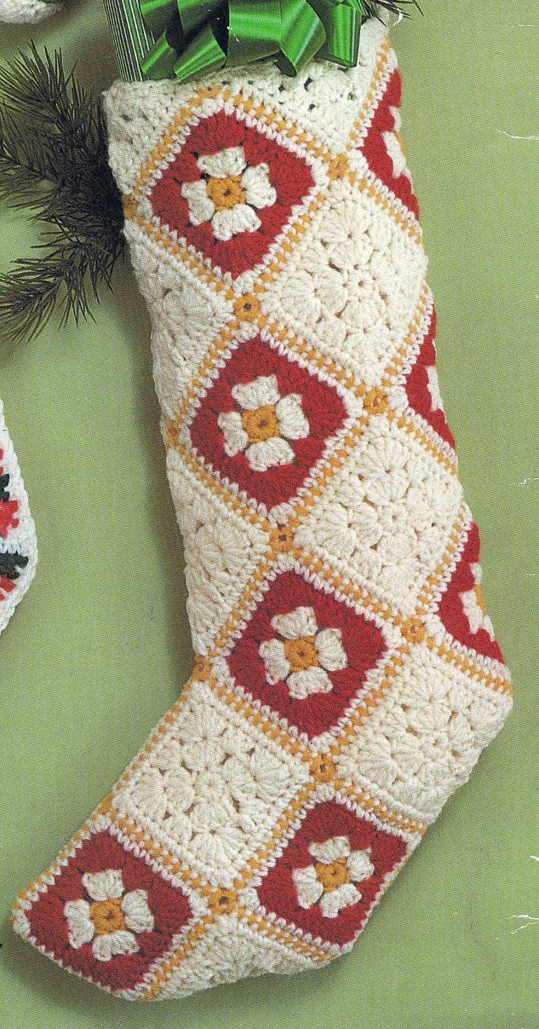Crochet Stocking Pattern  Luxury Free Christmas Crochet Patterns Crochet Christmas Stocking