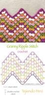 Crochet Zig Zag Pattern Crochet Patterns With Diagrams Schema Wiring Diagram