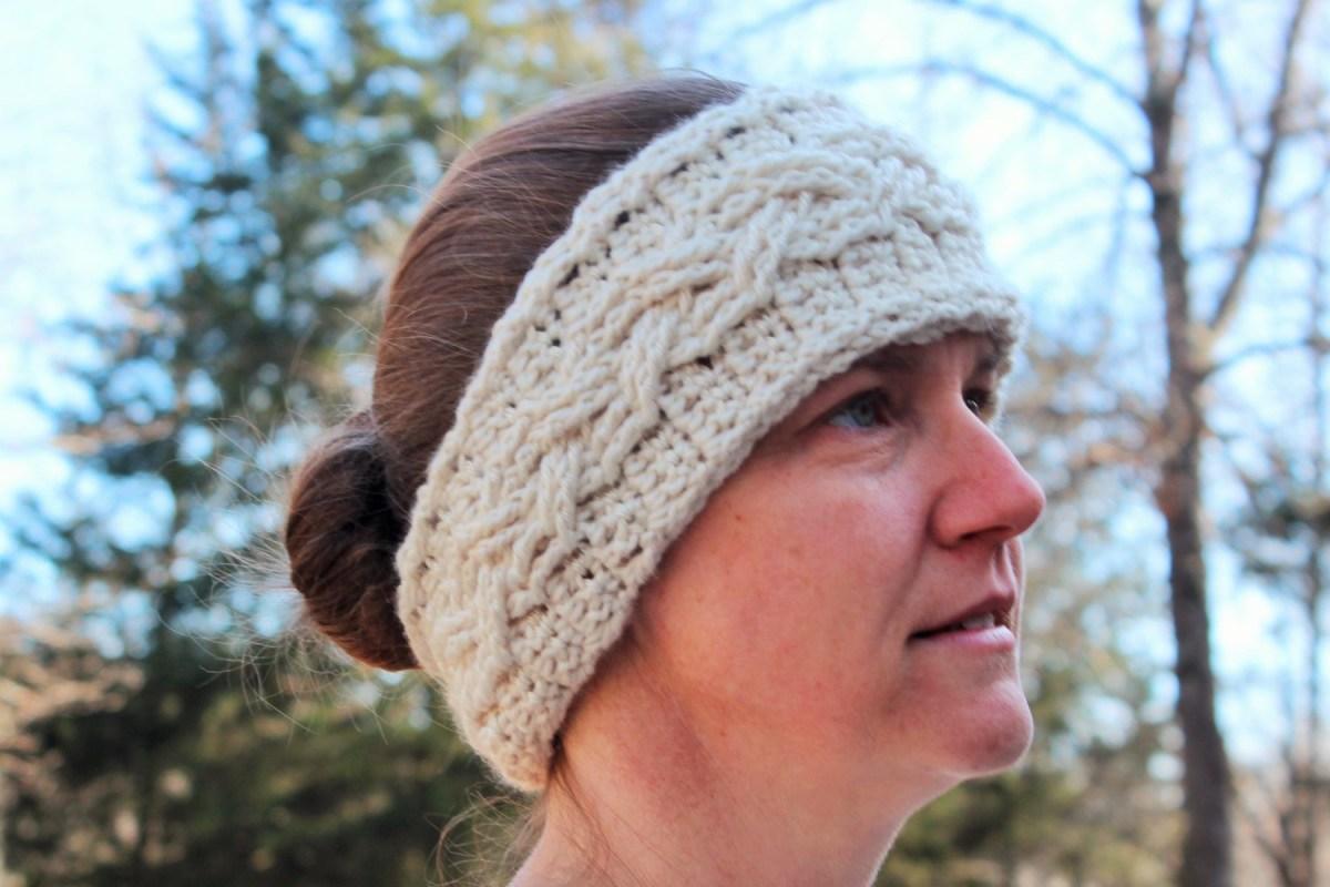 Ear Warmers Crochet Pattern Crochet Pattern Cable Ear Warmer Headband Cable Ear Warmer Etsy