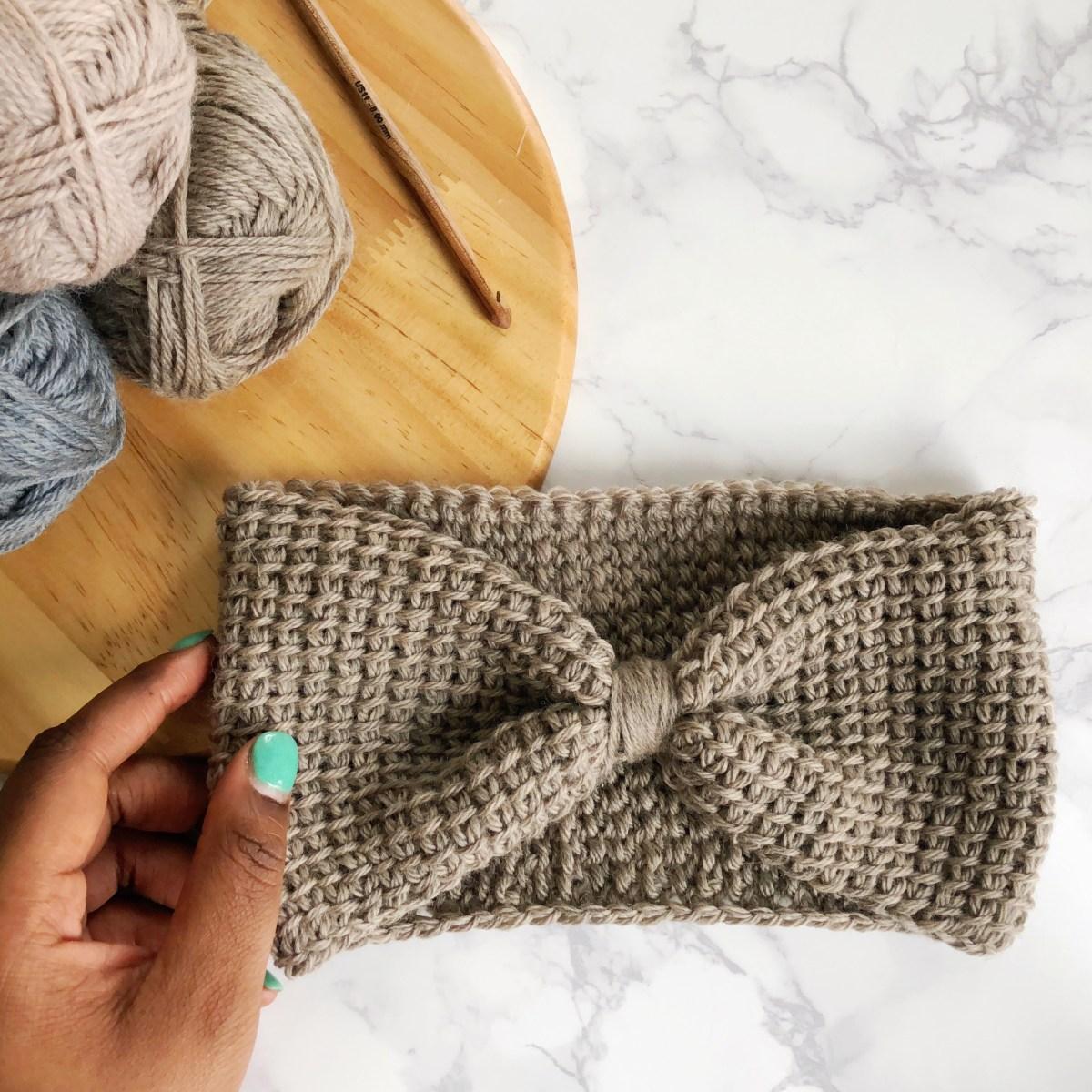 Ear Warmers Crochet Pattern Free Easy Tunisian Crochet Headband Pattern