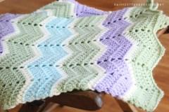 Easy Crochet Patterns Easy Chevron Blanket Crochet Pattern Daisy Cottage Designs