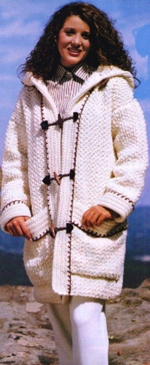 Free Crochet Jacket Pattern Designs for All Seasons Crochet Patterns Coat Crochet Jacket Coat Pattern Crochet Toggled