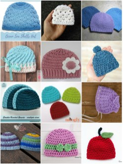 Knit Crochet Patterns 30 Free Crochet And Knitting Patterns For Preemie Hats Underground