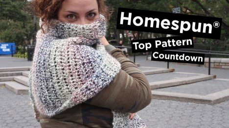 Knit Crochet Patterns 5 Most Popular Homespun Knit Crochet Patterns Youtube