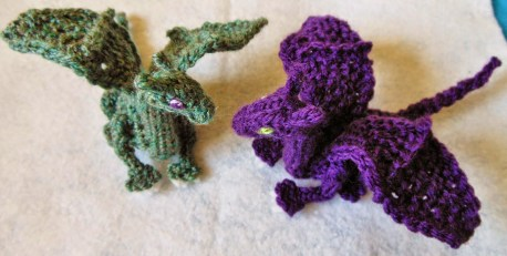 Knit Crochet Patterns Crafty Mutt Ba Dragon Palm Pal Knitcrochet Pattern