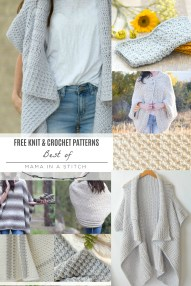Knit Crochet Patterns Top Knit And Crochet Patterns Mama In A Stitch