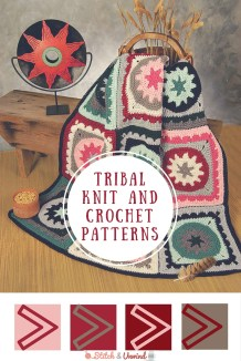 Knit Crochet Patterns Tribal Patterns Free Knit Crochet Patterns Stitch And Unwind
