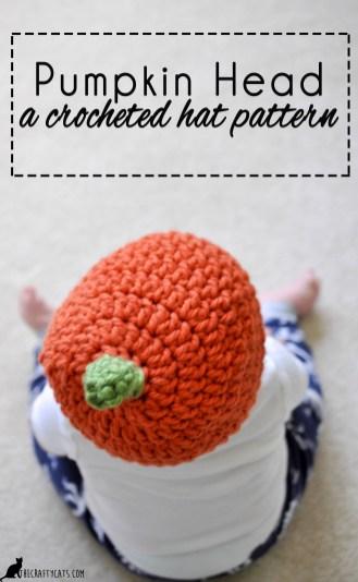 Pumpkin Crochet Pattern Pumpkin Head Crochet Pumpkin Hat Pattern For Babies And Toddlers