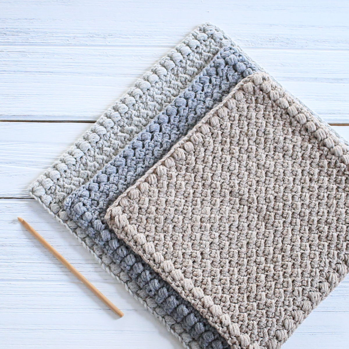Quick and Simple Dish Cloth Crochet Pattern Creek Pebbles Diy Dishcloth Pattern Crochet Life