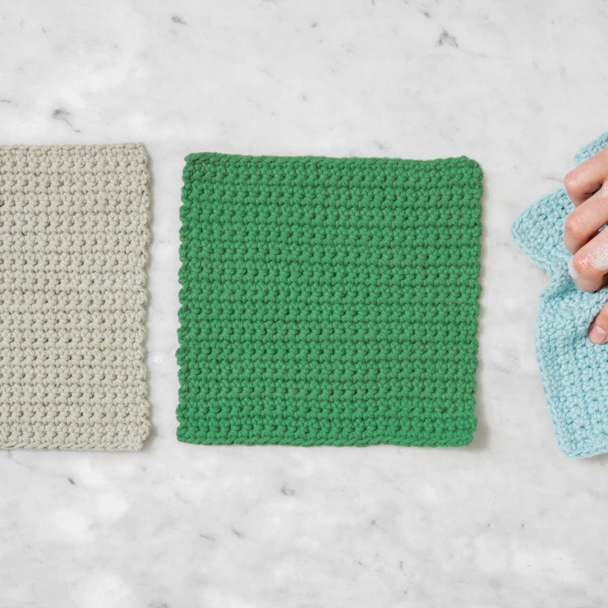 Quick and Simple Dish Cloth Crochet Pattern Easiest Crochet Project Ever Stitch A Dishcloth