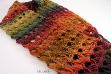 Redheart Crochet Patterns Broomstick Lace Infinity Scarf Bhooked Crochet Knitting