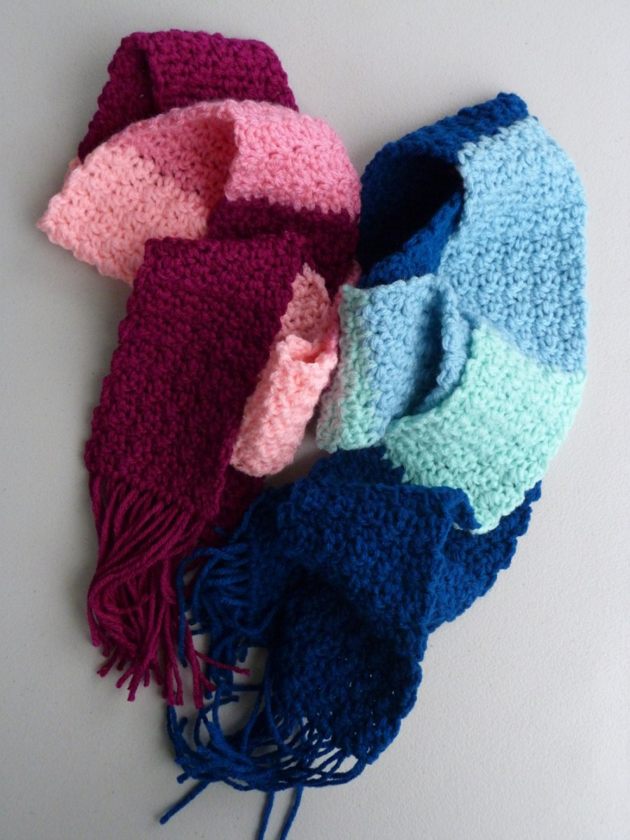 Scarf Crochet Pattern Free to Upgrade Your Winter Style Crochet Spot Blog Archive Free Crochet Pattern Kids Colorblock