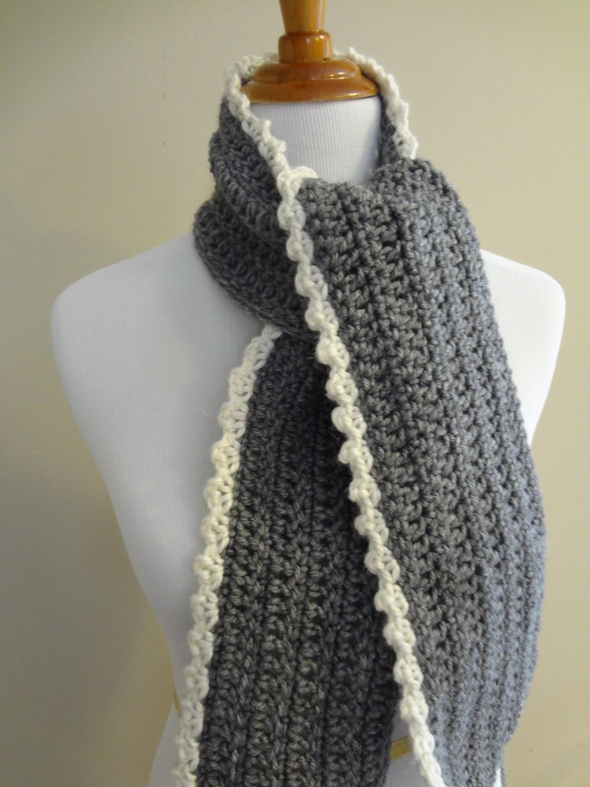 Scarf Crochet Pattern Free to Upgrade Your Winter Style Fiber Flux Free Crochet Patterningrid Scarf