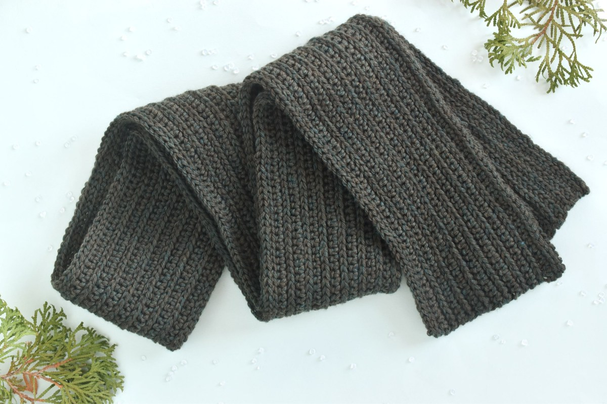 Scarf Crochet Pattern Free to Upgrade Your Winter Style Mens Classic Winter Scarf Free Crochet Pattern