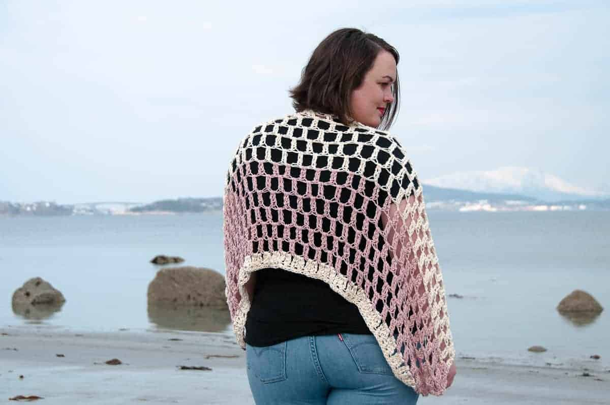 Summer Crochet Pattern Airy Shrug Crochet Pattern Summer Crochet Joy Of Motion