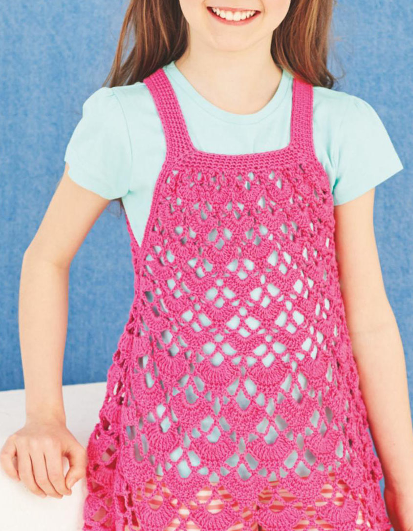 Summer Crochet Pattern Girl Summer Dress Crochet Pattern