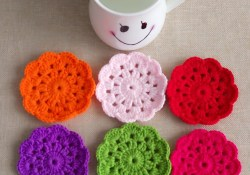 The Easiest Placemat Pattern Crochet 75 Crochet Placemat Patterns The Funky Stitch