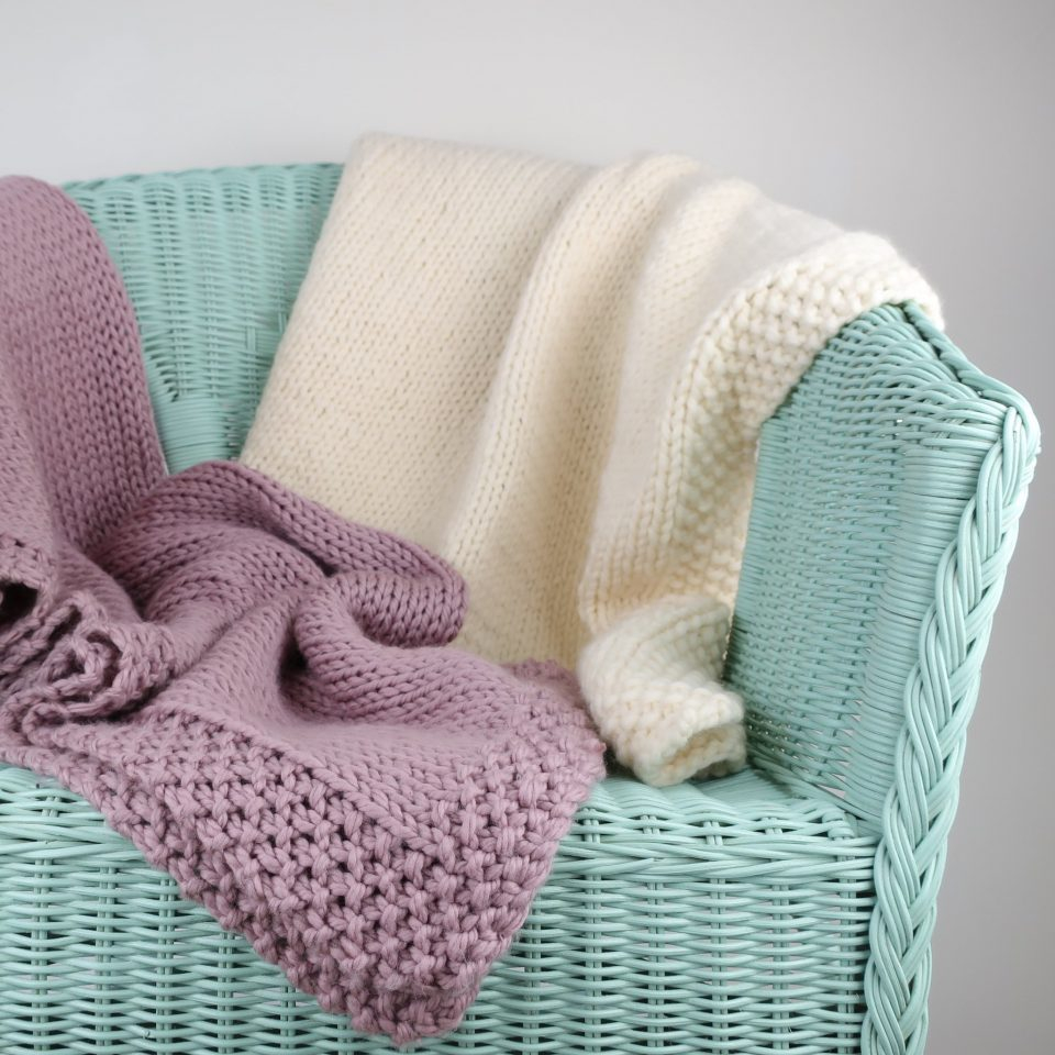 These Crochet Projects Ideas Will Blow Your Mind Elysia Ba Blanket Beginner Knit Kits The Kit Company Knitting For