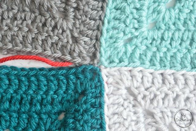 Mattress Stitch join tutorial for beginner by www.mycrochetory.com