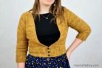 Rhea V-neck Crochet Cardigan - free pattern