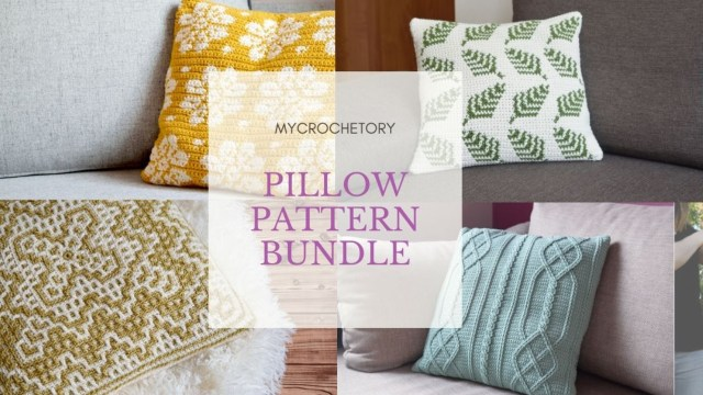 Crochet pillows are the ultimate home accent, adding style, personality and welcome to every space. It's my TOP 10 Free Crochet Patterns for decorative crochet pillows on my blog mycrochetory.com