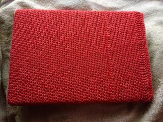 Laptop Cover using Single Crochet