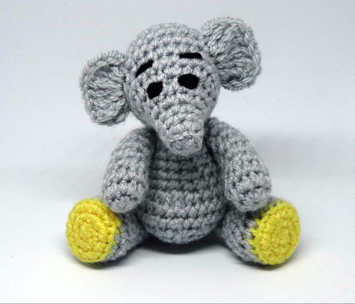 Henry Elephant Free Amigurumi Crochet Pattern
