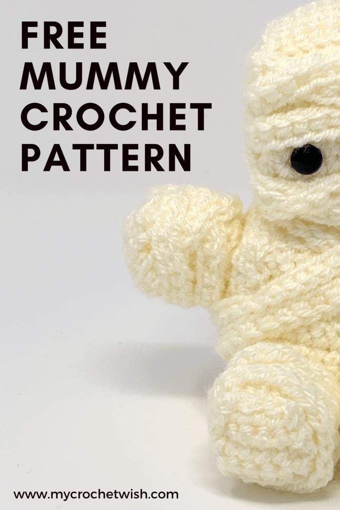 Mummy Amigurumi Crochet Pattern