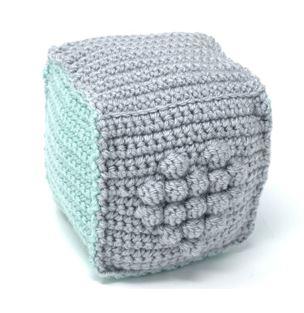 How to Assemble a Crochet Amigurumi Cube