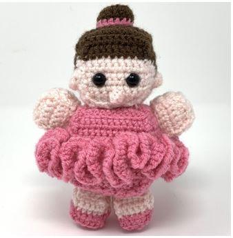 Small Ballerina Amigurumi Crochet Pattern