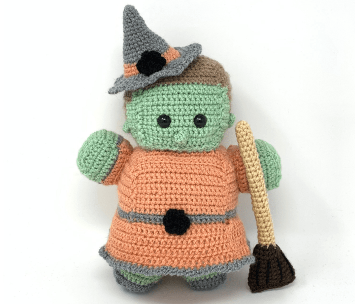 Large Witch Free Crochet Pattern