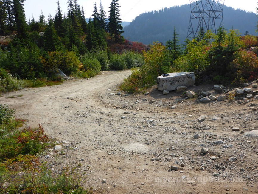 The last road - an access road for the powerlines