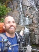 Creekside selfie
