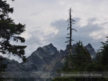 Chikamin Peak from the east
