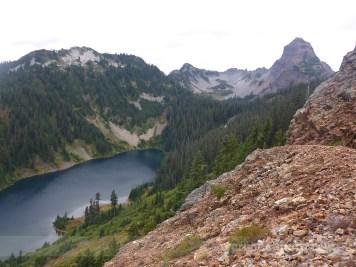 Joe Lake and Mt. Thomson