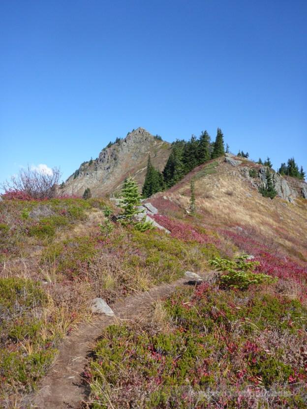 Along the ridge to Alta
