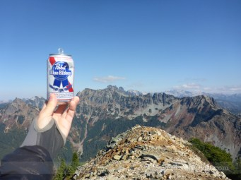 Celebratory P.B.R - Peak Bagging Refreshment
