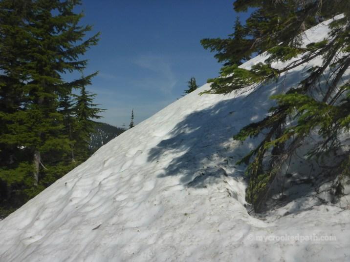 Kinda steep