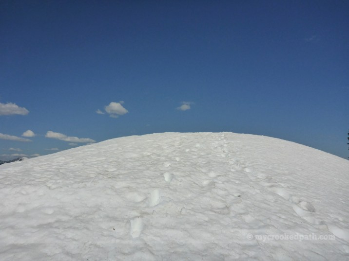 Up to the summit