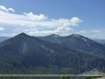 Granite Peak in the far center