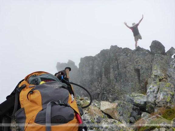 Other climbers having a bit of fun