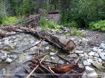 Wolf Creek crossing