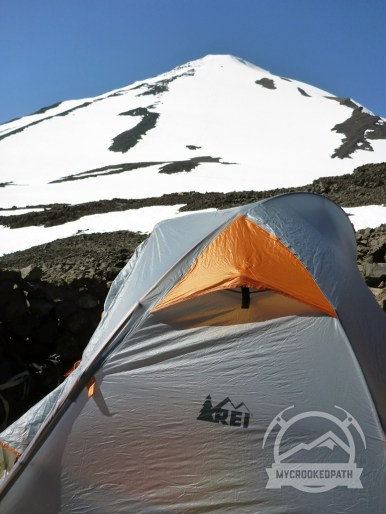 Gratuitous tent shot