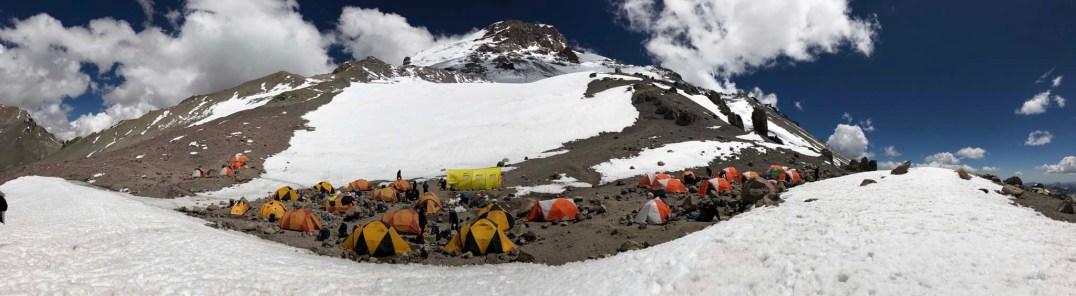 Camp Guanaco - ~18K feet