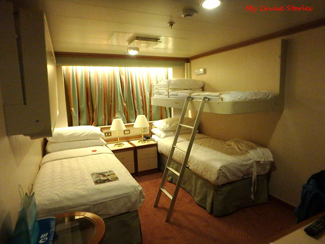 cabin with bunk  Cruise Stories