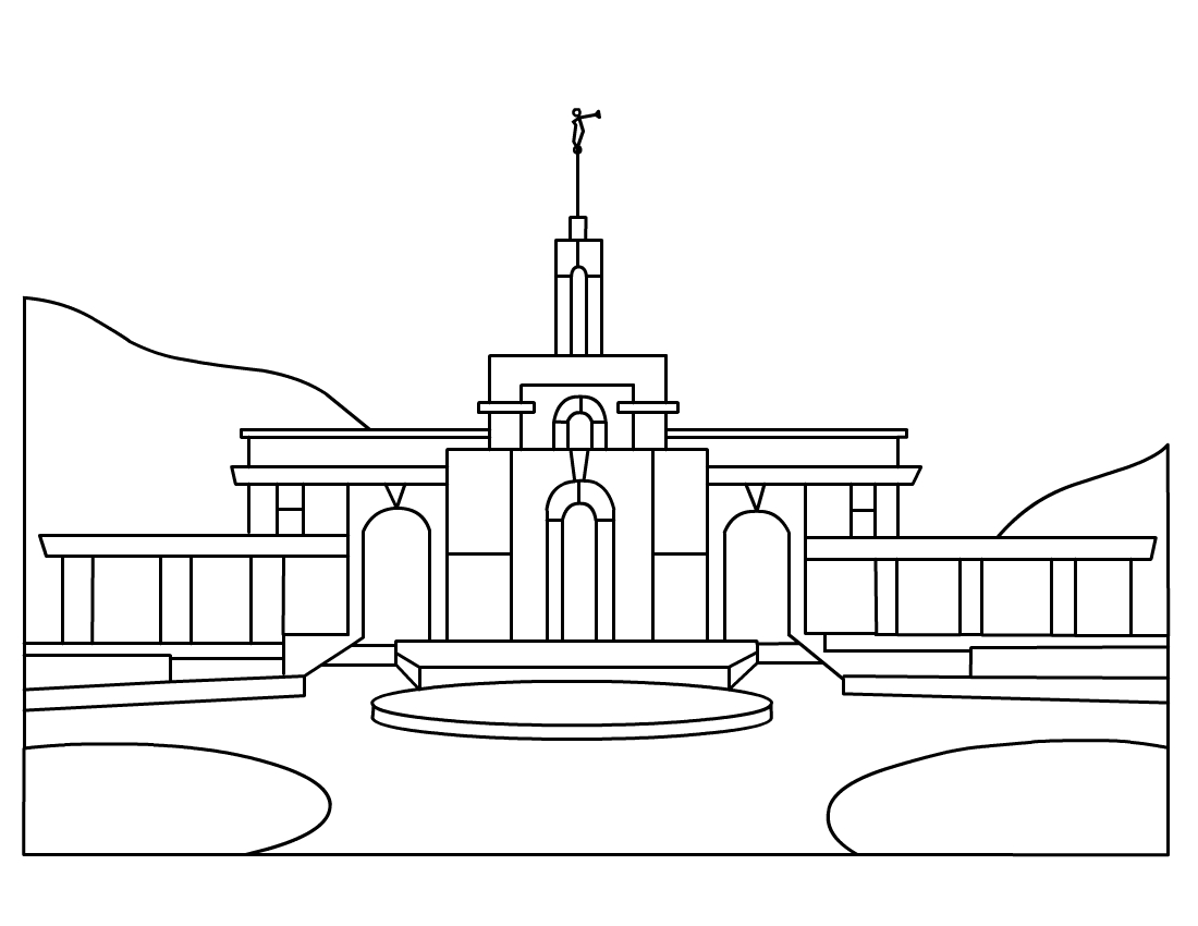 Lds Temple Clip Art My Ctr Ring