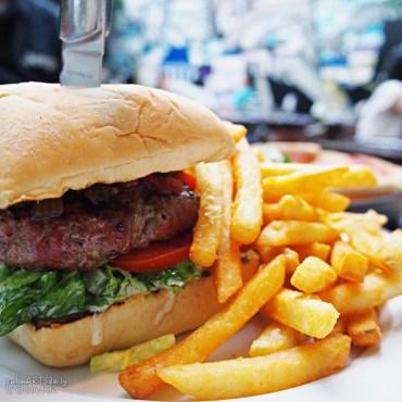 Prime beef burger