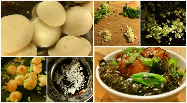 Idli Manchurian Collage