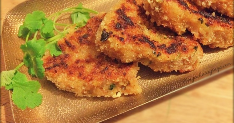 Golden Beetroot Cutlets