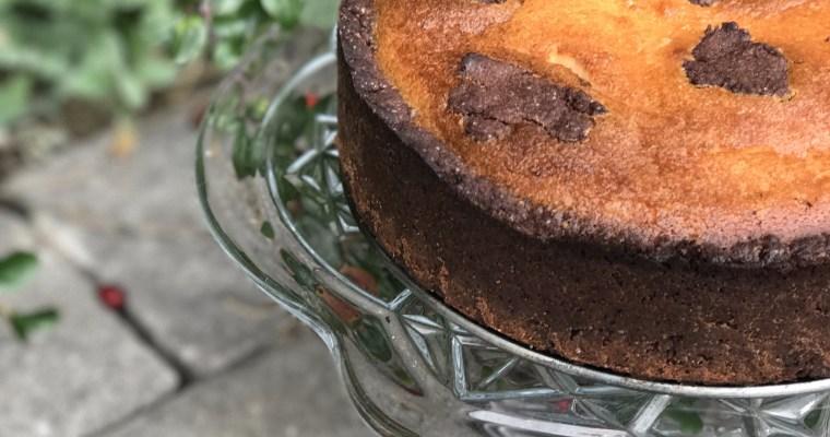 Russian Chocolate Cheesecake/ Russischer Zupfkuchen